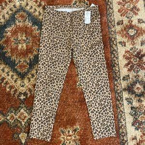 So leopard print leggings - Size S